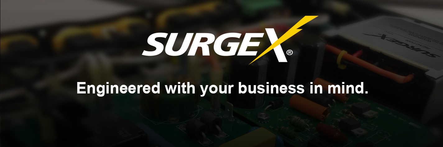 SurgeX Power Conditioners, Surge Protectors and Power Management Software