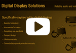 SurgeX Digital Signage Power Quality Solutions